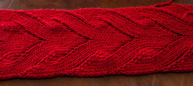 red mock cable